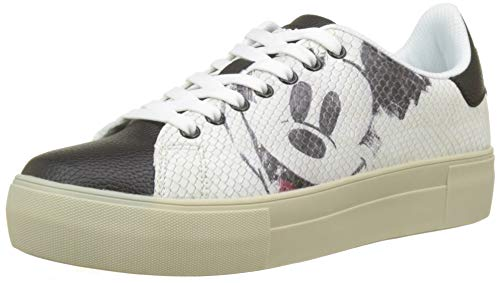 Femme Basses Sneakers Star Desigual Mickey Shoes f1UTU