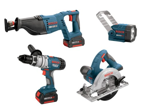 Bosch CLPK40-180 18-Volt Litheon 4 Tool Combo Kit