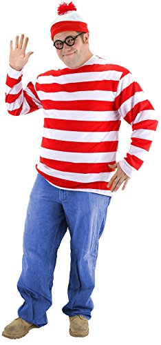 80's Halloween Costumes Plus Size (Waldo Costume)