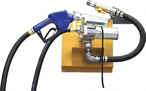 12VDC 15 GPM 1//5 HP Cast Aluminum Rotary Vane Fuel Transfer Pump