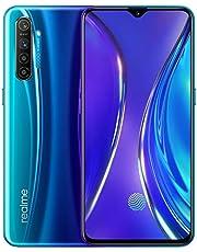 realme X2 Smartphone móvil, 8 GB RAM 128 GB ROM 6,4 '' Snapdragon 730G 64MP Cámara VOOC 30W Cargador rápido, Versión EU (Azul)