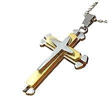 cross crystal pendant