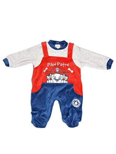 ARNETTA Tutina ciniglia bimbo neonato Paw Patrol rosso 6mesi