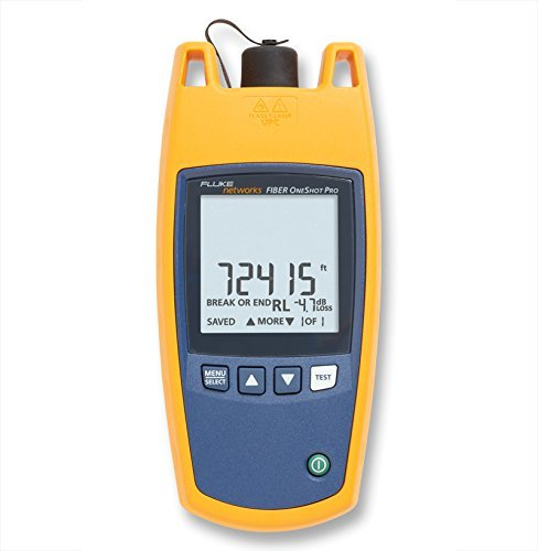 Fluke Networks FOS-SFP-PM Fiber One-Shot with Power Meter Single Mode Fault - Nm Pm To