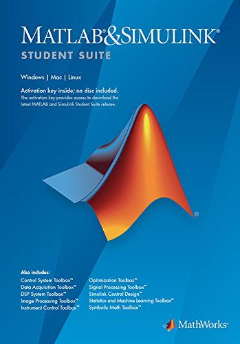 amazon com matlab and simulink student suite r2018a rh amazon com