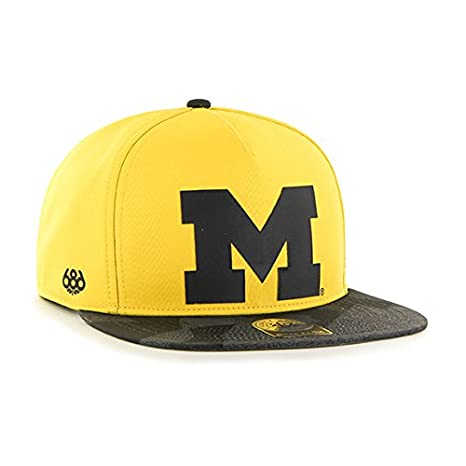Amazon.com   686x47 NCAA Michigan Wolverines Crispy Snapback Cap ... 5e560579fe0