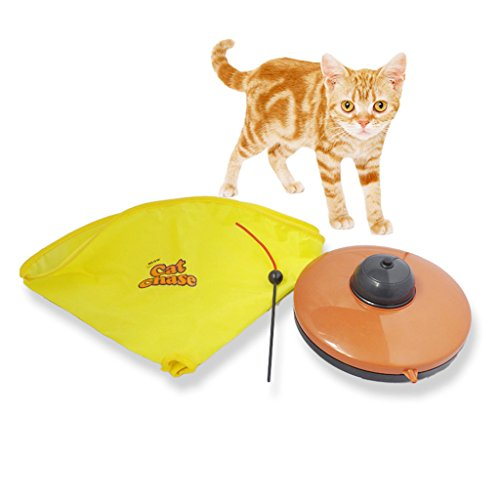 Enjoying Cat Meow Toy Undercover Mouse Interactive Electr...