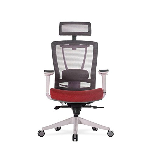 Vifah ActiveChair Ergonomic Office and Gaming Chair, 7-Way Adjustable, Red