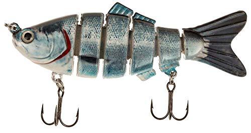 Real Fish Bait Spring Shad Fishing Bait, Kokanee, 4-Inch