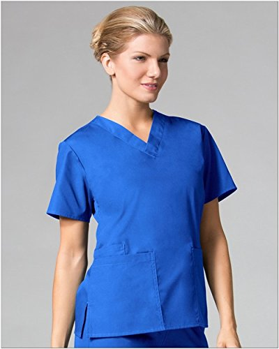 Core By Maevn Women's V-Neck Solid Scrub Top XX-Large - 2012 Trends In Fashion
