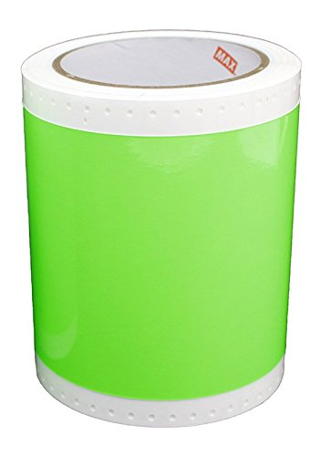 Max USA SL-S133KN Fluorescent Green Tape Roll For CPM-100G3U, Sold 2 per Zack Pack. by Max