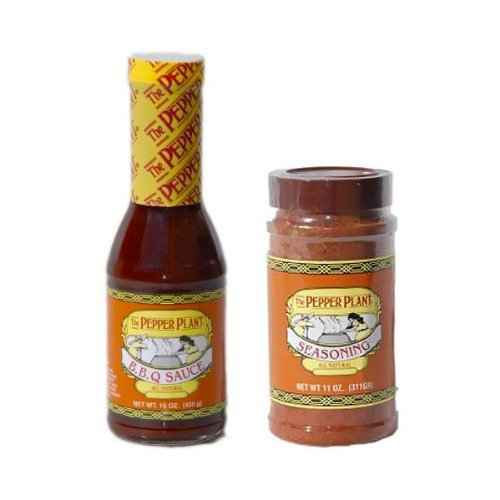 UPC 616316591783, The Pepper Plant BBQ Sauce & Dry Rub Seasoning Combo