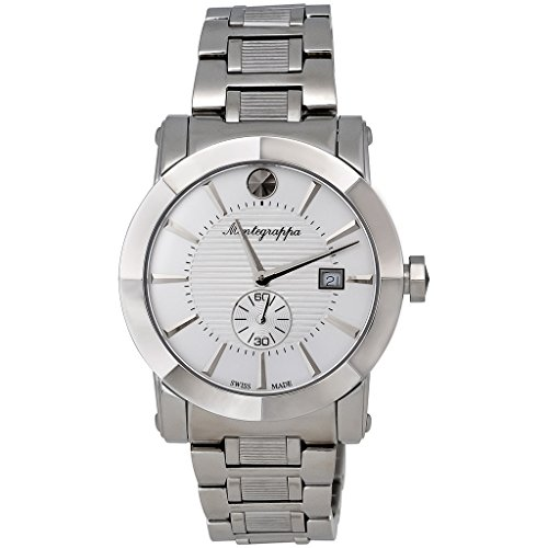 Montegrappa NeroUno Sub Seconds Men's Watch Swiss Made IDNUWAMW Swiss Made