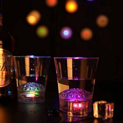 Bargain World Sky proyección de la estrella LED cerveza de whisky de vidrio taza bar del