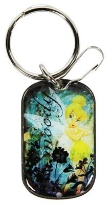 Plasticolor 004273R01 Key Chain-Tinker Bell Wash Tag, 1 Pack (Tinkerbell Tag)