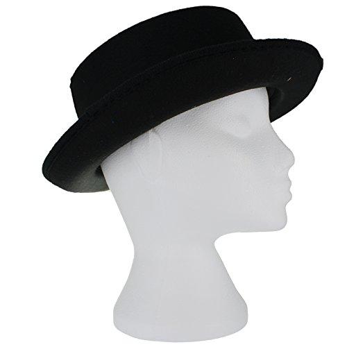 Dress Fedora Hat Adult Felt Black Accessory Fancy d1Xqw4qtx