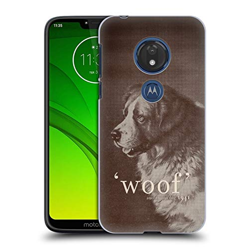 Official Florent Bodart Famous Quote Dog Animals Hard Back Case Compatible for Motorola Moto G7 Play from Head Case Designs