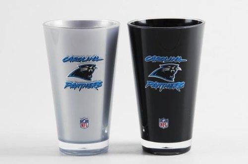 Carolina Panthers Tumblers - Set of 2 (20 oz)]()
