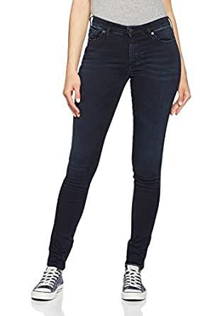Diesel Women's Skinzee Trousers 679M Indigo/Blue Jeans