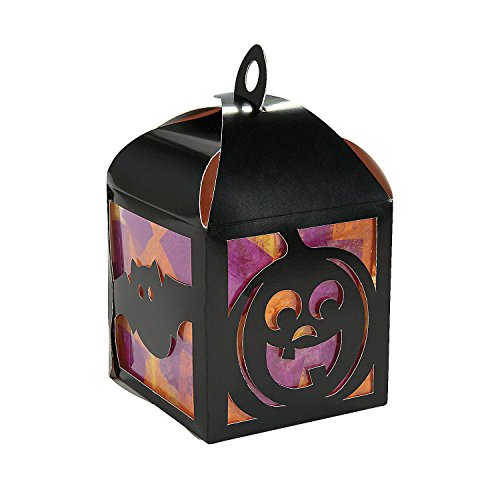 3D Halloween Tissue Lantern Craft Kit