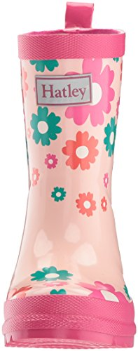 Hatley Printed Rain Boots, Mädchen Arbeits-Gummistiefel Rosa (Multicoloured Scattered Flowers)