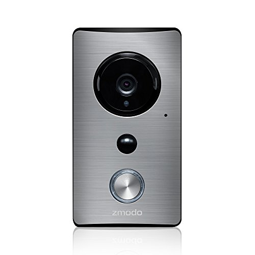 Electronics : Zmodo Smart Greet Wi-Fi Video Doorbell - Cloud Service Available
