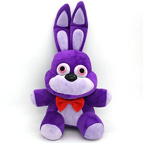 Shalleen 1pcs Five Nights At Freddy's 4 FNAF BONNIE Plush Toy Doll SIZE: 10 inch (Chucky Doll For Sale Cheap)