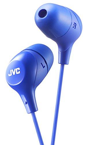 JVC HAFX38A BLUE Marshmallow In-Ear Headphones Original/New