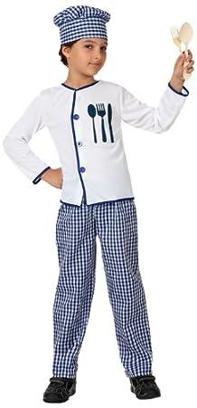 Atosa - Disfraz de cocinero para niño, talla 10-12 años ...