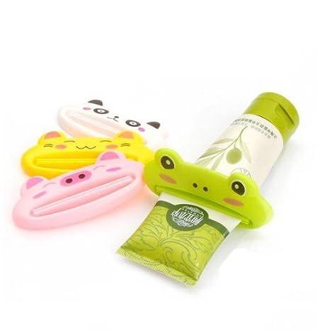 5pcs / lot animal lindo estilo de dibujos animados de pasta de dientes Facial Limpiadora Exprimidor - Mezcla color al azar: Amazon.es: Bricolaje y ...