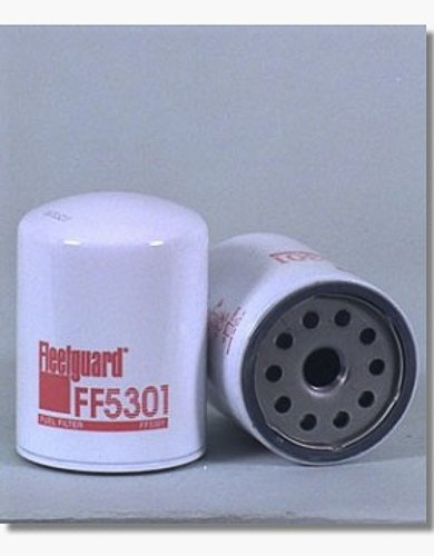 Cummins Filtration FLEETGUARD Fuel Filter FF5301 (Xref:Baldwin BF-1224;Donaldson P55-0455;NAPA 3404;WIX 33404) by Cummins Filtration (Image #1)