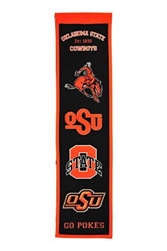 Team Logo Pennant (NCAA Oklahoma State Cowboys Heritage Banner)