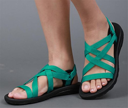 Athletic Womens Green Womens Sandal SATUKI SATUKI Outdoor Womens Outdoor Outdoor Athletic Sandal Green SATUKI a4SwWqFx