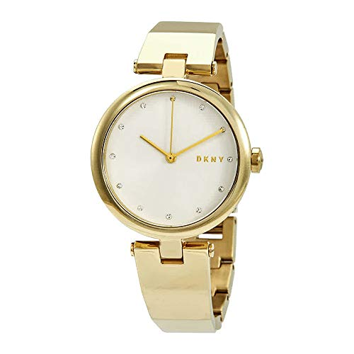(DKNY Eastside Quartz Silver Dial Ladies Watch NY2712)