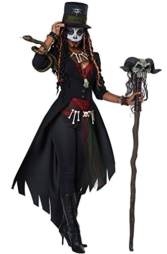 California Costumes Women's Voodoo Magic Adult Costume, Multi Extra Large ()