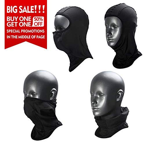 Cold Weather Helmet Liner - Balaclava - Windproof Ski Mask - Cold Weather Face Mask Motorcycle Neck Warmer - Tactical Balaclava Hood - Ultimate Thermal Retention in Outdoors Super Comfy Hypoallergenic Moisture Wicking