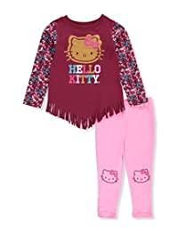 Hello Kitty Little Girls' 2-Piece Outfit