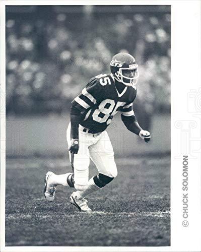(Vintage Photos 1982 Press Photo NFL New York Jets Wide Receiver Wesley Walker -)