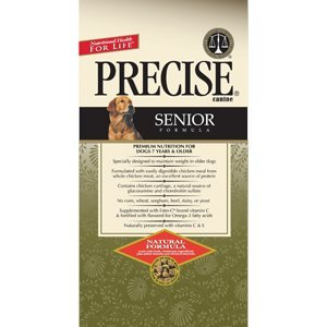 Precise 726027 5-Pack Canine Senior Dry Food for Pets, 5-Pound