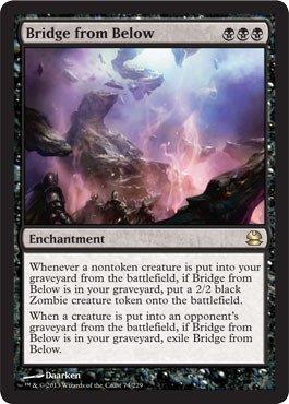 Magic: the Gathering - Bridge from Below - Modern Masters (Mtg Bridge From Below)
