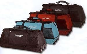 Nowi - Bolsa de viaje con 3 ruedas (1,4 kg, hasta 140 L), color negro