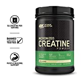 Optimum Nutrition Micronized Creatine Monohydrate Powder, Unflavored, Keto Friendly, 42.24 Ounce (Packaging May Vary)