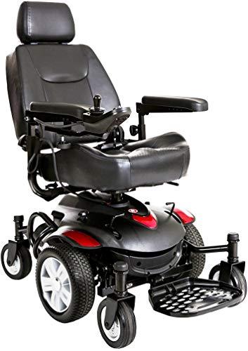 Drive Medical Titan AXS Mid-Wheel Power Wheelchair, 20
