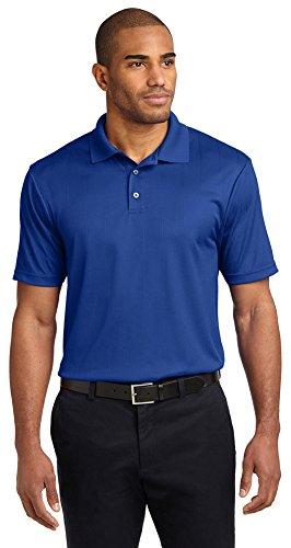 Port Authority Performance Fine Jacquard Polo, Hyper Blue, XX-Large (Performance Jacquard Polo E)