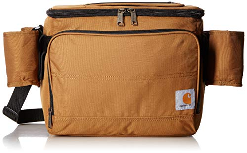 (Carhartt Deluxe Cooler Bag with 4 Detachable Insulated Beverage)