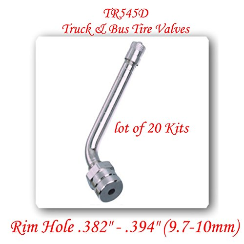 20 Kits Truck Tire Valve Stems FitsNew Alcoa 22.5 & 24.5 Aluminum Wheels TR545D