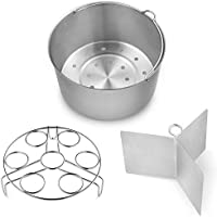 Vookoon Steamer Basket, 304 Stainless Steel Steamer for Instant Pot, Food Steamer with Durable Construction, Removable…