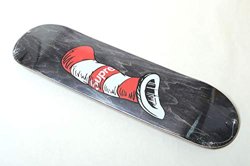 ★日本の職人技★ Supreme Cat Skateboard in the Hat Skateboard シュプリーム キャット イン ワンサイズ キャット ザ ハット スケートボード デッキ B07L9LZ262 ブラック ワンサイズ, スタンプファクトリーshop:85ddb35f --- a0267596.xsph.ru