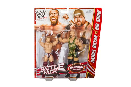 WWE Series 19 Battle Pack: Daniel Bryan vs. Big Show Figure, 2-Pack by WWE