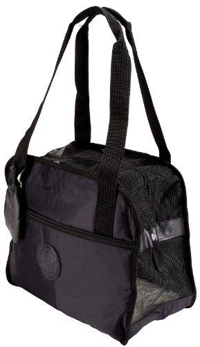 Sherpa Tote Around Town Small Black 15″ x 8″ x 13″ (Pets up to 8 lbs), My Pet Supplies